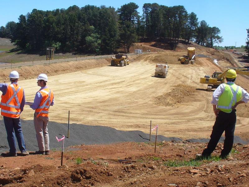 Thompsons Creek Dam Erosion Control